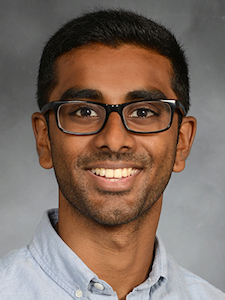 Christopher Babu, a second-year medical student at Weill Cornell Medical College