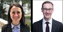 Alexandra Larsen and Andrew Garton were matched with Weill Cornell Medicine Neurosurgery for their residency program