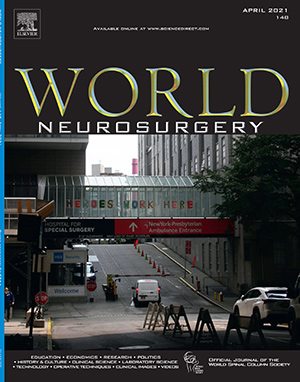 World Neurosurgery Cover on Covid at WCM
