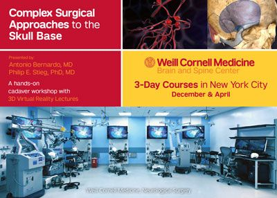 Weill Cornell Medicine Surgical Approaches to the Skull Base