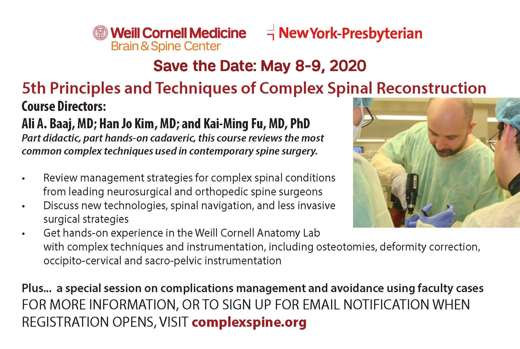 Complex Spine CME 2020