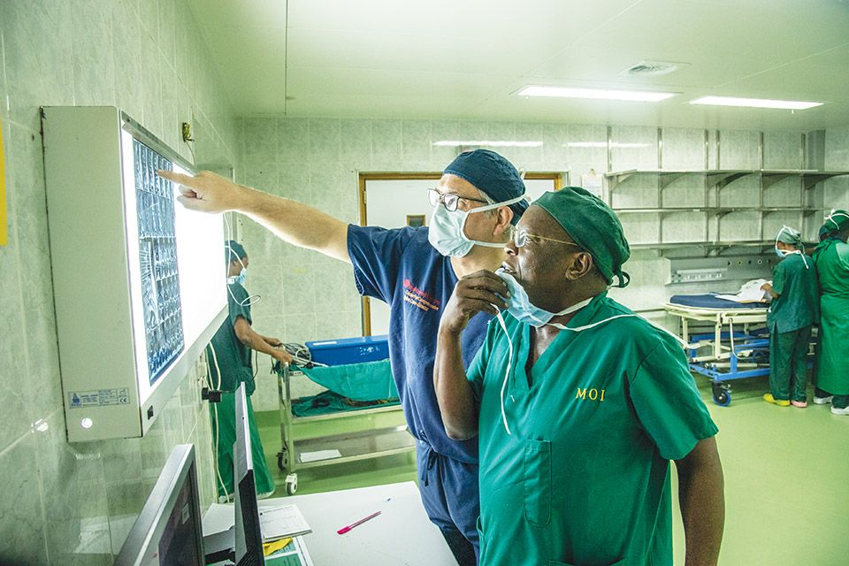 Dr. Hartl founded the Neurosurgical Mission in Tanzania