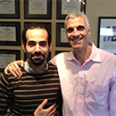 Assem Abdel Latif with Dr. Mark Souweidane