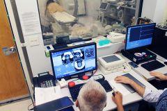 Focused ultrasound control room
