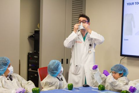 The Earliest Mentorship: Fifth Graders Learn About Medicine